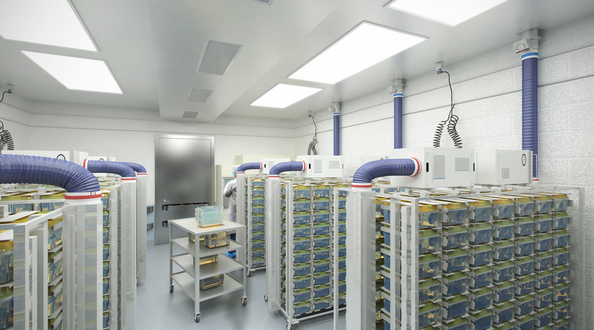 Animal Research Facility/Vivarium, Building 10 - Global Engineering ...