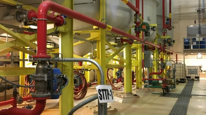 wastewater piping